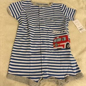 Carter's One Pieces - Carters 3-6 Months Fire Engine Outfit
